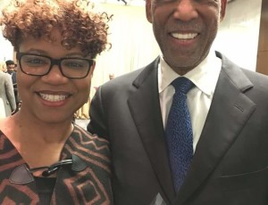 NYS DC Tracie Berry McGhee and Dr. Terrence Roberts
